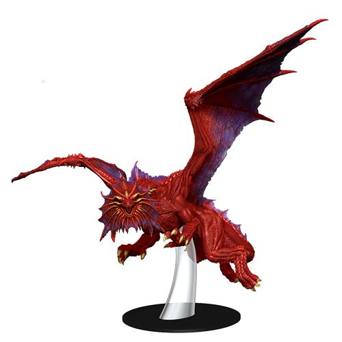 D&D Icons Of The Realms: Guildmasters Guide To Ravnica - Niv-Mizzet Red Dragon Premium Figure