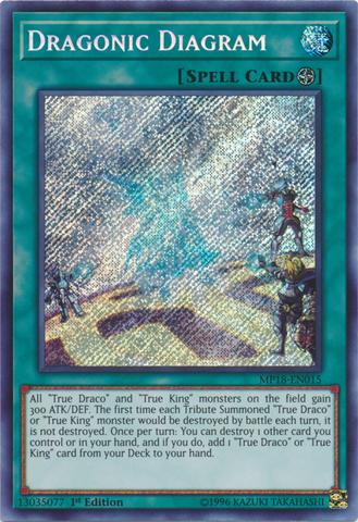 Dragonic Diagram - MP18-EN015 - Secret Rare - 1st Edition