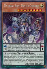 Mythical Beast Master Cerberus - MP18-EN185 - Secret Rare - 1st Edition