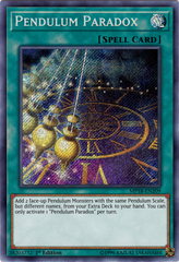 Pendulum Paradox - MP18-EN209 - Secret Rare - 1st Edition