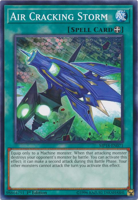 Air Cracking Storm - MP18-EN071 - Common - 1st Edition