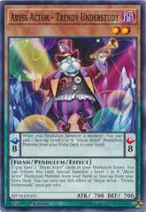 Abyss Actor - Trendy Understudy - MP18-EN101 - Common - 1st Edition