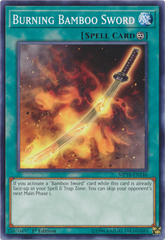 Burning Bamboo Sword - MP18-EN146 - Common - 1st Edition