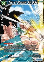 Test of Strength Son Goku - TB2-020 - R