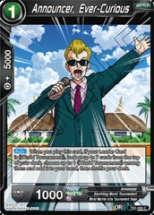 Announcer, Ever-Curious - TB2-066 - C