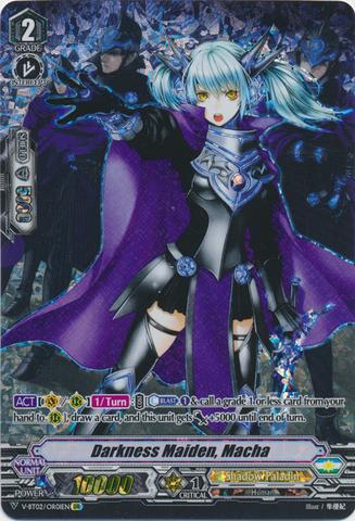 Darkness Maiden, Macha - V-BT02/OR01EN - OR