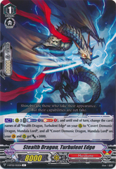 Stealth Dragon, Turbulent Edge - V-BT02/052EN - C