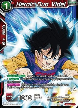 Heroic Duo Videl - TB2-011 - C - Foil