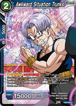 Awkward Situation Trunks - TB2-026 - C - Foil