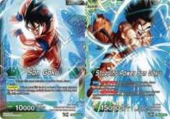 Son Goku // Stopping Power Son Goku - TB2-034 - UC - Foil