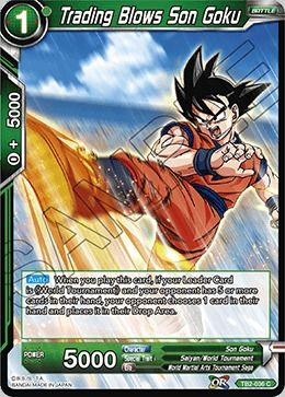 Trading Blows Son Goku - TB2-036 - C - Foil