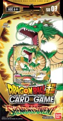 Dragon Ball Super - Series 5 Starter Deck - Shenron's Advent - Deck 7 on Channel Fireball