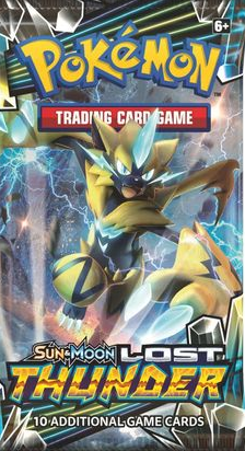 Sun & Moon - Lost Thunder Booster Pack