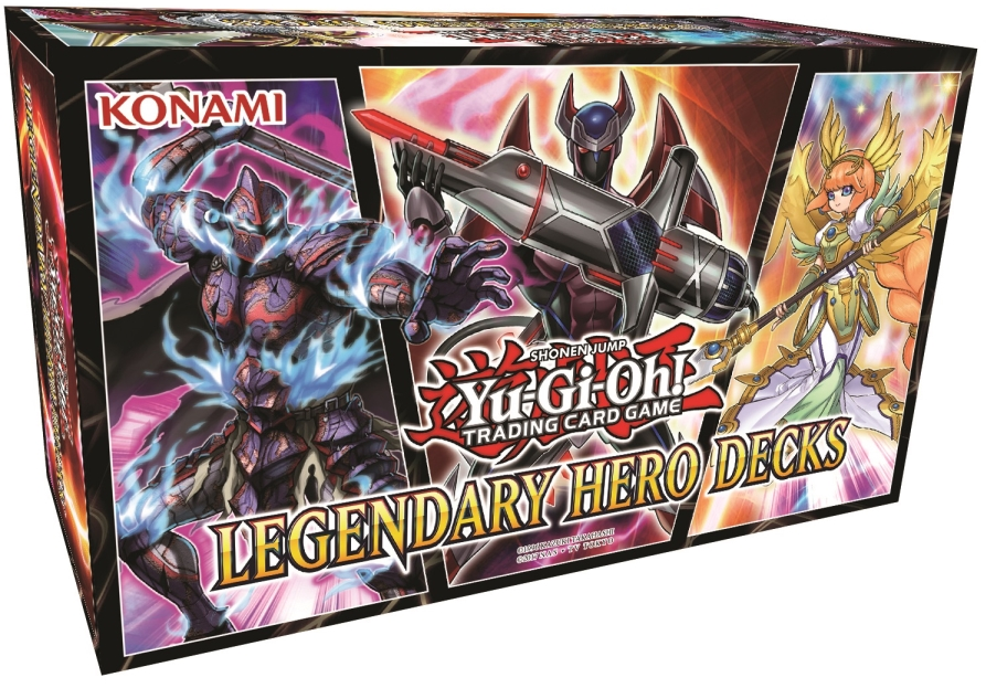 Legendary Hero Decks Box Set