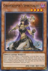 Gravekeeper's Spiritualist - SOFU-EN013 - Common - 1st Edition