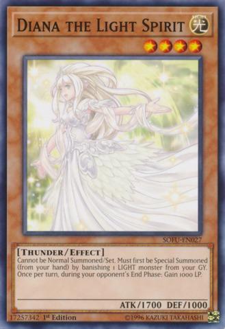 Diana the Light Spirit - SOFU-EN027 - Common - 1st Edition