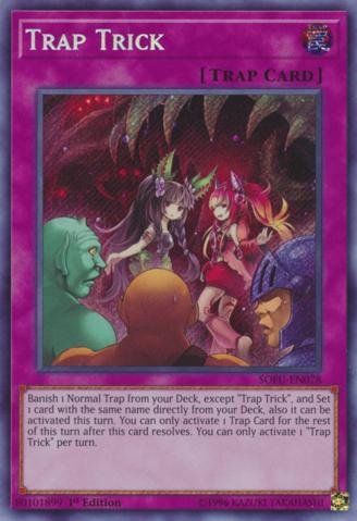 Trap Trick - SOFU-EN078 - Secret Rare - 1st Edition