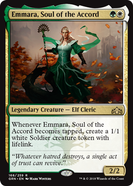 Emmara, Soul of the Accord - Foil