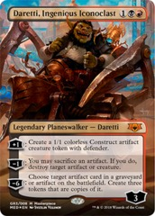 Daretti, Ingenious Iconoclast - Foil on Channel Fireball