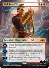 Ral, Izzet Viceroy - Foil on Channel Fireball