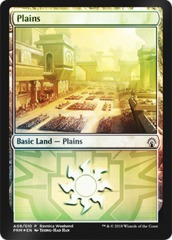 Plains (A08/010) FOIL - Boros Ravnica Weekend Promo