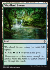 Woodland Stream (Amonkhet) - Planeswalker Deck Exclusive