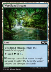 Woodland Stream (Core Set 2019) - Planeswalker Deck Exclusive