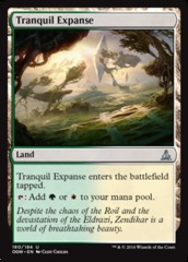 Tranquil Expanse (Oath of the Gatewatch) - Planeswalker Deck Exclusive