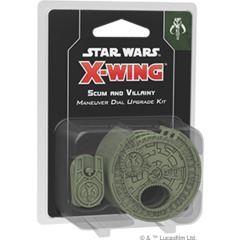 Star Wars X-Wing - 2nd Edition - Scum and Villainy Maneuver Dial Upgrade Kit