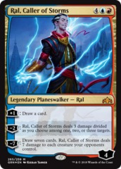 Ral, Caller of Storms - Foil - Planeswalker Deck Exclusive