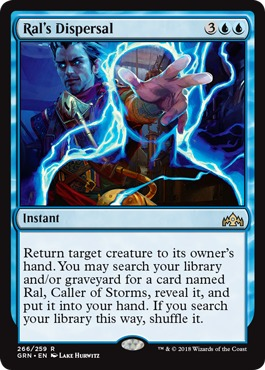 Ral's Dispersal - Planeswalker Deck Exclusive - Magic
