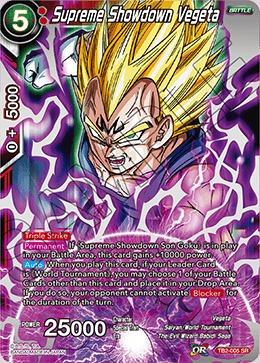 Supreme Showdown Vegeta - TB2-005 - SR