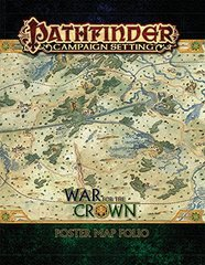 Pathfinder Campaign Setting: War for the Crown Poster Map Folio