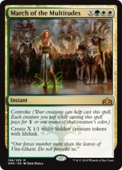 March of the Multitudes - Foil on Channel Fireball