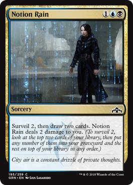 Notion Rain - Foil