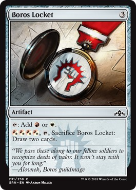 Boros Locket - Foil