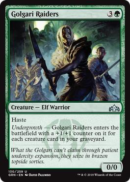 Golgari Raiders - Foil