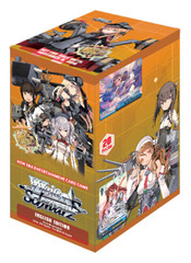 Weiss Schwarz: KanColle Arrival! Reinforcement Fleets from Europe! Booster Box