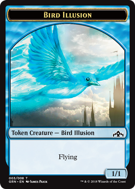 Bird Illusion Token