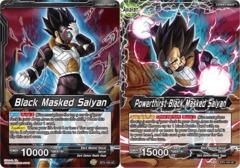 Black Masked Saiyan // Powerthirst Black Masked Saiyan - BT5-105 - UC - Foil on Channel Fireball