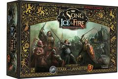 A Song of Ice & Fire - Tabletop Miniatures Game Starter Set - Stark vs Lannister