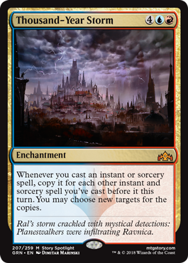 Thousand-Year Storm - Foil