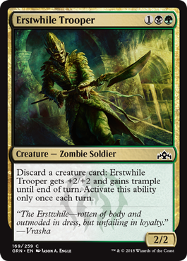 Erstwhile Trooper - Foil