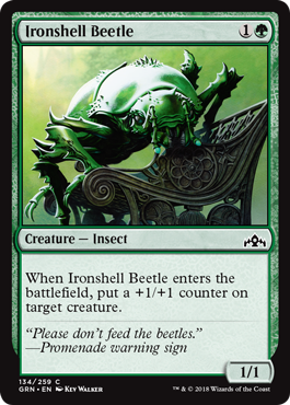 Ironshell Beetle - Foil