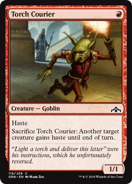 Torch Courier - Foil