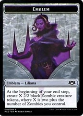 Emblem - Liliana, the Last Hope on Channel Fireball