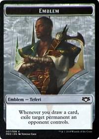 Emblem - Teferi, Hero of Dominaria