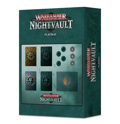 Wh Underworlds: Nightvault Dashboard Mat