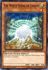 The White Stone of Legend - LED3-EN007 - Common - 1st Edition