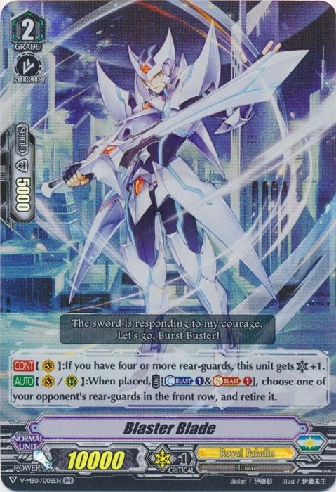 Blaster Blade - V-MB01/008EN - RR
